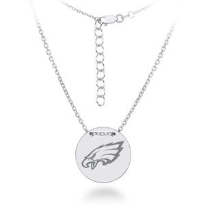 NFL Philadelphia Eagles Disk Tailored Necklace
